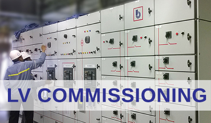 LV-commissioning